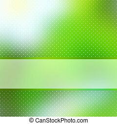 Abstraer el pasado verde con el espacio. EPS 8
