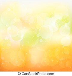Abstraer el vector naranja y amarillo