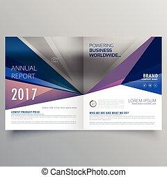 Abstraer la plantilla de diseño de folletos