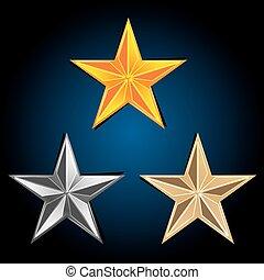 Abstraer las estrellas del vector