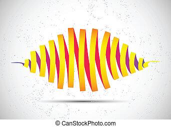 Abstraer las ondas del vector