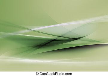 Abstraer las ondas verdes