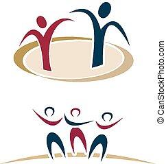 Abstraer logos de la gente