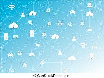 Abstraer los antecedentes de la red social