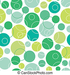 Abstraer los círculos verdes sin marcas de fondo