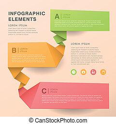 Abstraer los infográficos del estandarte