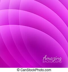 Abstraer ondas suaves vector de fondo