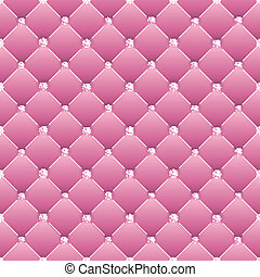 Abstraer tapicería en un fondo rosa.