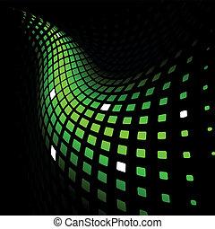 Abstraer un fondo verde dinámico