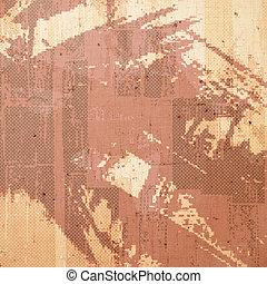 Abstraer viejos antecedentes con textura grunge