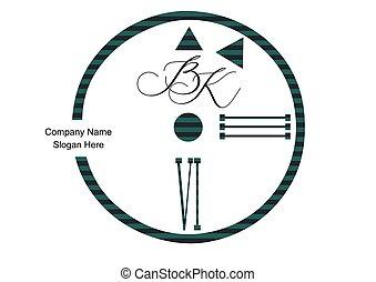 abstrakt, logotipo, schablone, vektor, uhr, elemento, diseño, 3d