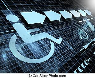 accesibilidad, símbolo