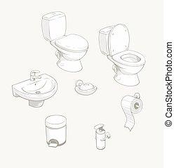 Accesorios del baño y del equipo de baño
