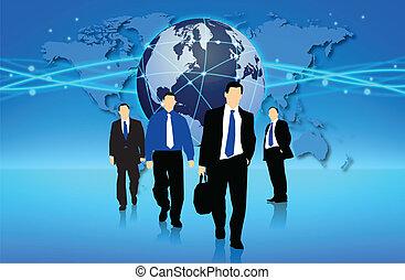 acción, empresa / negocio