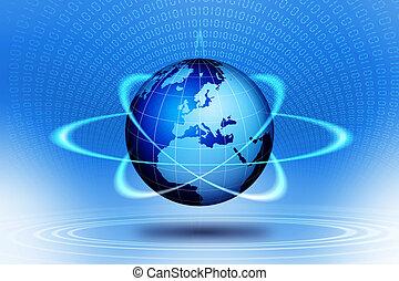 Acción tecnológica mundial.