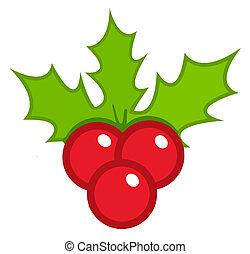 acebo, navidad