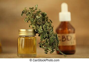 aceite, médico, oilproduct, cannabis, cbd, marijuana