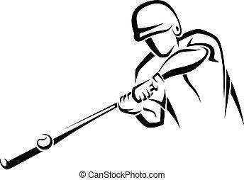 Acento de bateador