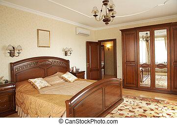 acondicionador, dormitorio