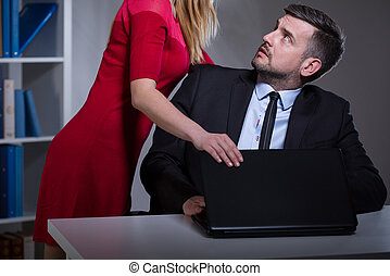 Acoso sexual en el lugar de trabajo
