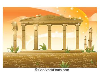 acrópolis, grecia