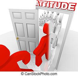 actitud, cambios, logro, éxito, gente