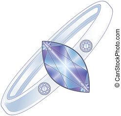 Activador de anillo de diamantes