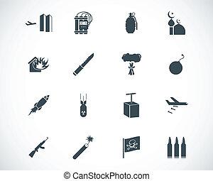 Activen iconos del terrorismo negro