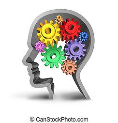 Actividad cerebral humana