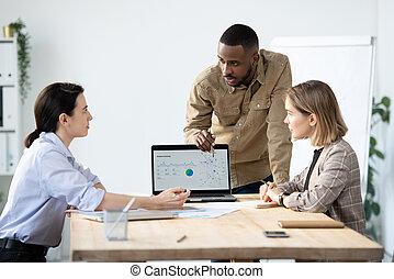 actividad, datos, presentación, visitantes