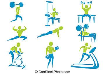 Actividad del gimnasio