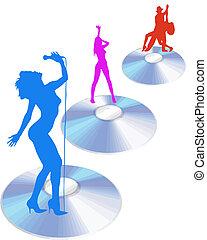 Actuadores en vector de CD