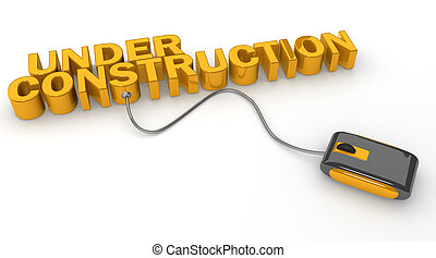 Actualización de página web o concepto de construcción