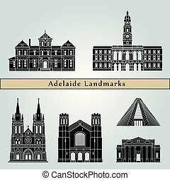 Adelaide V2 puntos de referencia
