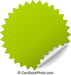 Adhesivo verde