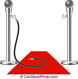 Admisión gratis: alfombra roja