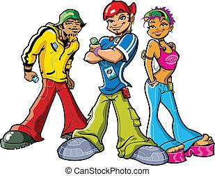 Adolescentes urbanos