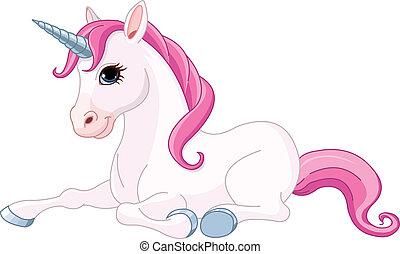 adorable, unicornio