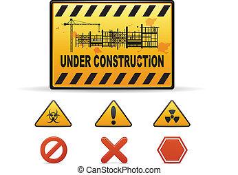 Advertencia de construcción