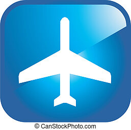 aeropuerto, icono