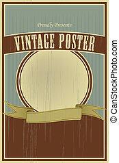 Afiche de vintage