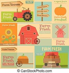Afiches de granja