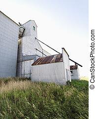 agrícola, edificio.