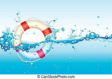 agua, lifebouy