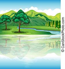 agua, nuestro, tierra, recursos naturales
