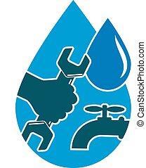 agua, reparación, sy, instalación de cañerías, suministro