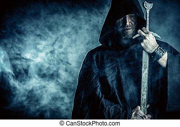 agudo, espada