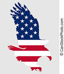 Aguila audaz americana