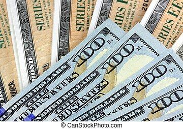 Ahorra bonos con moneda americana