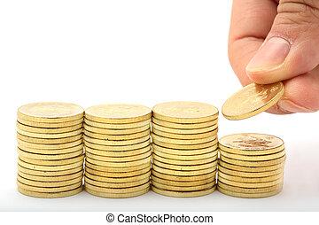 Ahorrando un montón de dinero